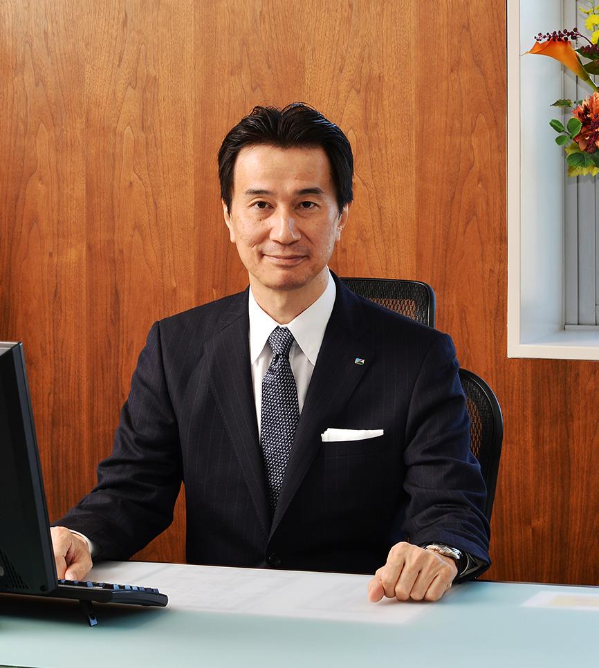 エスケー化研 代表取締役社長 藤井 実広 就活生へのご挨拶